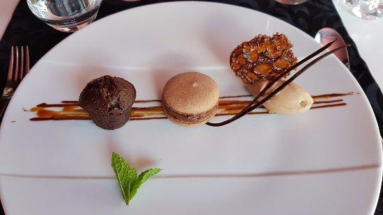 La Ferme de Villeneuve: variation autour du chocolat