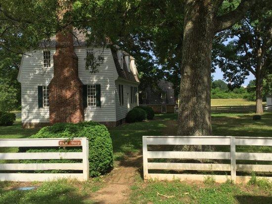 Yorktown, VA: Moore House_Side