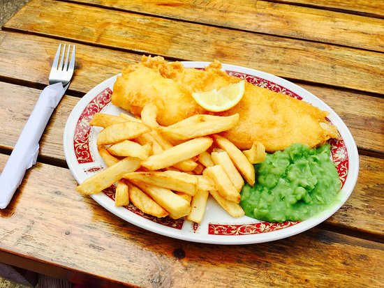 Lynmouth's Traditional Fish and Chips Fish on the Harbour: photo2.jpg