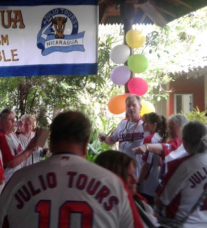 Leon, Nikaragua: The jersy of Julio Tours 10 aniversary,, it had been not easy, but you all always teaching us wh