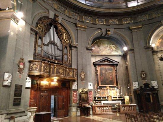 Civico Tempio di San Sebastiano: Organo.
