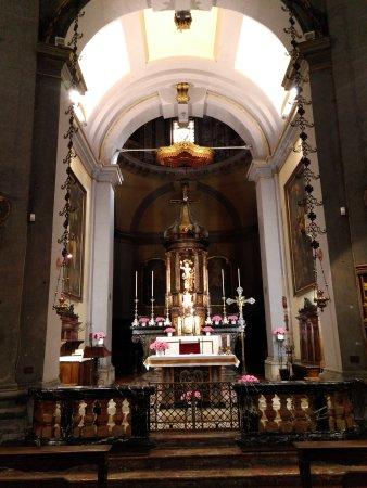 Civico Tempio di San Sebastiano: Capilla