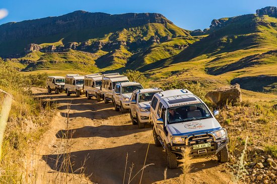 Underberg, Sydafrika: Our Fleet in action