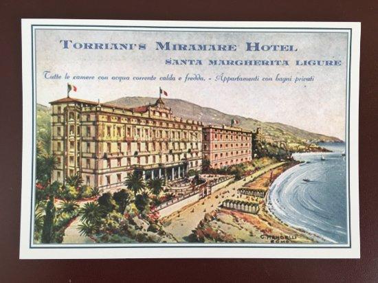 Grand Hotel Miramare: GHM in the past.