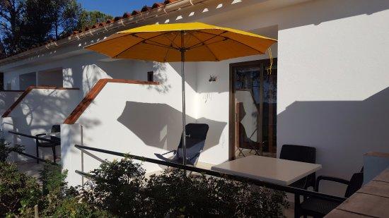 Hostal Sa Barraca: Terraza habitación