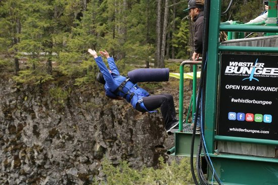 Whistler Bungee: Taking the leap!!