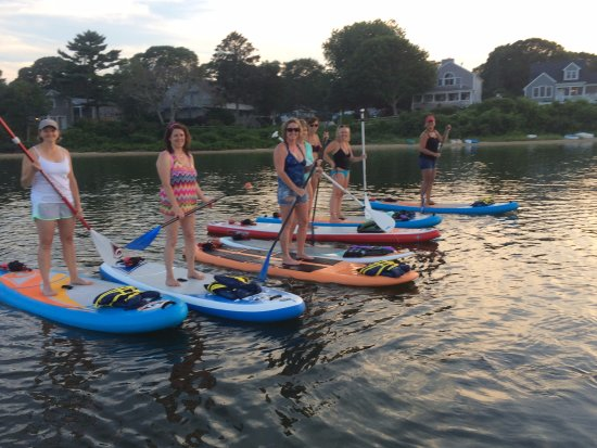 Paddle the calm waters of Falmouth, Mashpee, Bourne, and Sandwich with Peace Love SUP.