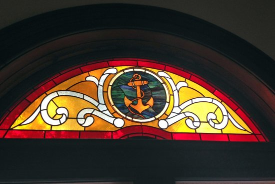 Howard Steamboat Museum Mansion Nautical Themed Stain Gl Window