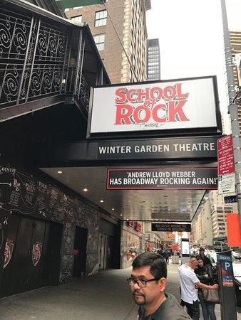 Winter garden theatre new york city top tips before you go tripadvisor for Restaurants near winter garden theater nyc
