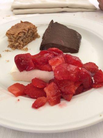 Cissone, Italia: dessert
