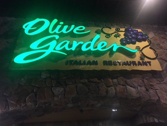 My son enjoying - Picture of Olive Garden, Kissimmee - TripAdvisor