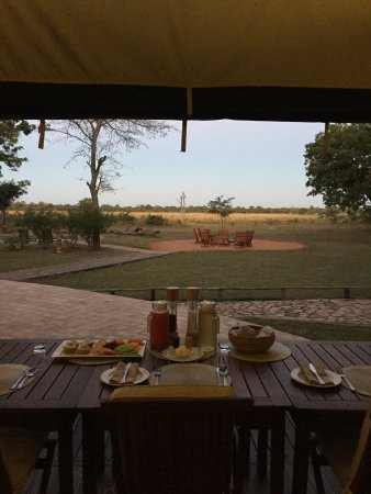 Elephant's Eye, Hwange: View