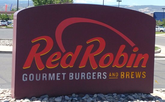 Red Robin Gourmet Burgers: Sign