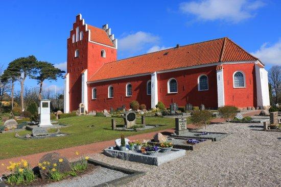 Laesoe Island, الدنمارك: Byrum Kirke