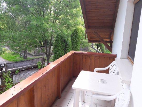 Balatonfoldvar, Hungary: balkon