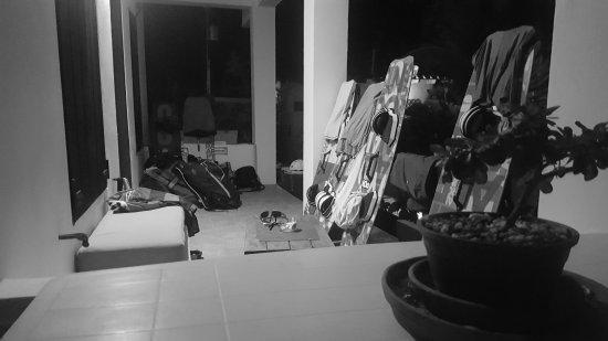 Casa Caribe El Yaque: Terraza