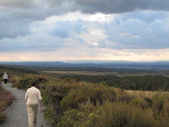 Tongariro National Park, New Zealand: Homeward bound