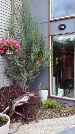 Cormier's Studio: Outside front door