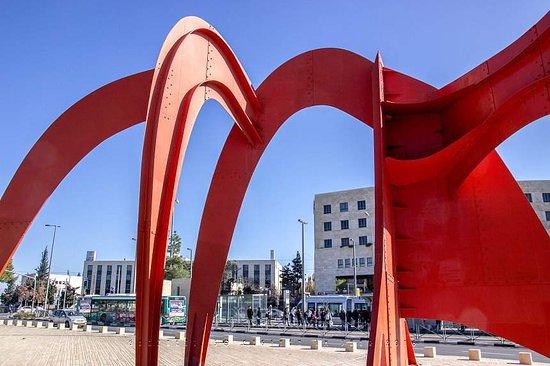 Homage to Jerusalem Statue - Alexander Calder