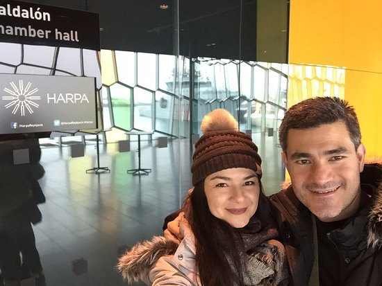 Harpa Reykjavik Concert Hall and Conference Centre: Dentro del auditorio