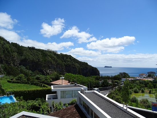Quinta do Mar: Rooftop deck view