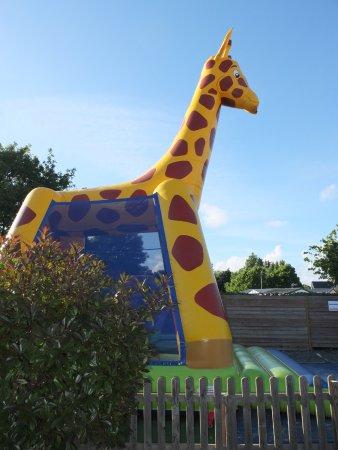 Les enfants trouveront de quoi s'amuser au parc ou auprès de l'équipe d'animation