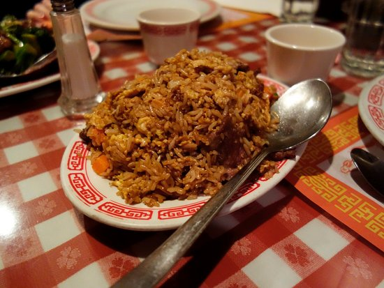 Blue Jay, CA: Beef Fried Rice