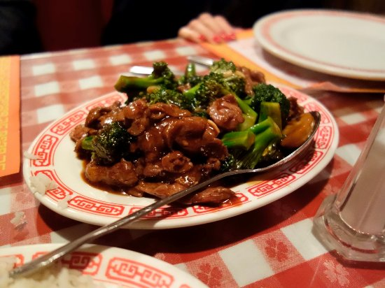 Blue Jay, CA: Beef and Broccolli