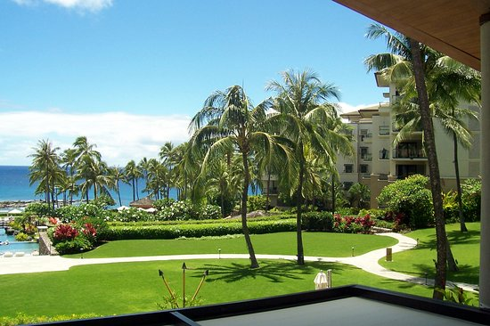 Montage Kapalua Bay: View from room 4504