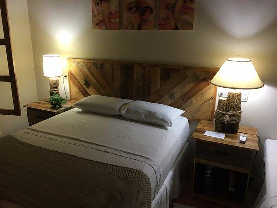 """Gracias, Honduras: Habitación doble """"Colibri"""" pueden quedarse hasta tres personas por habitación"""