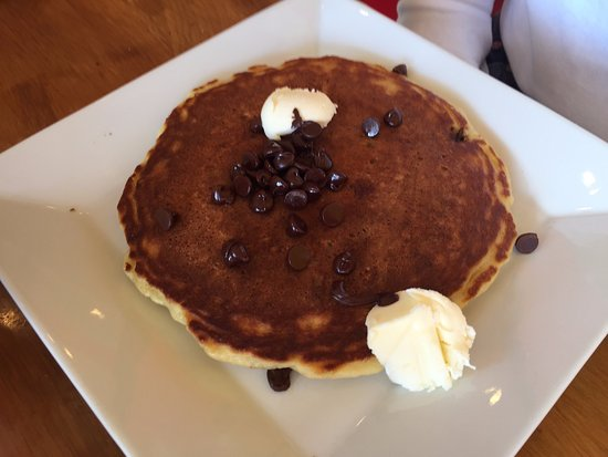 Royersford, Pensilvania: Specialty pancake with chocolate chips