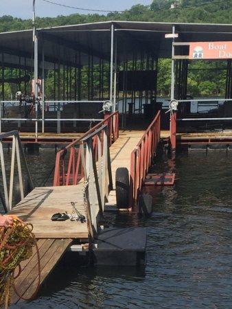 Bavarian Village Resort : Dock & boat slip
