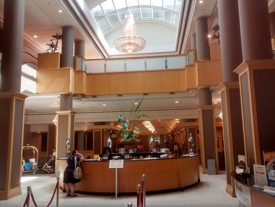 Hotel & Conference Center, BW Premier Collection: This beautiful interior opens directly into the Florida Mall