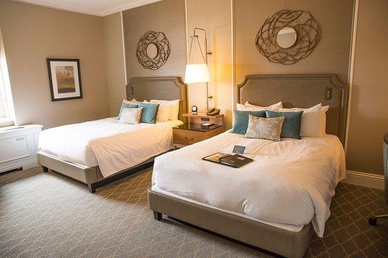 Fairmont Le Chateau Frontenac: Deluxe 2 double beds