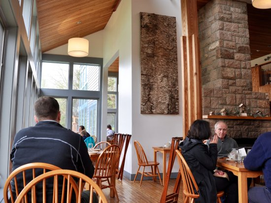 Seal Harbor, ME: Jordan Pond House - View Of Inside From My Table