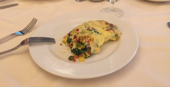 Hot Springs, VA: Breakfast Omelette