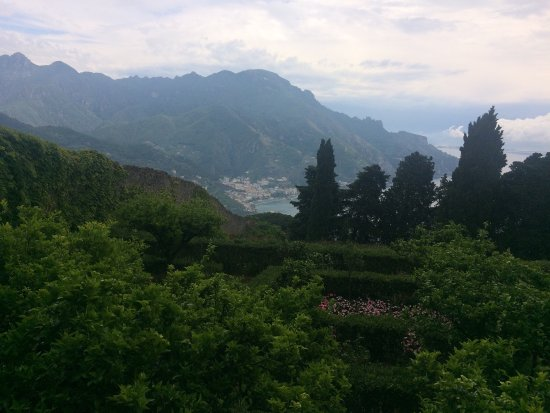Il Flauto di Pan: View of the coast from the restaurant