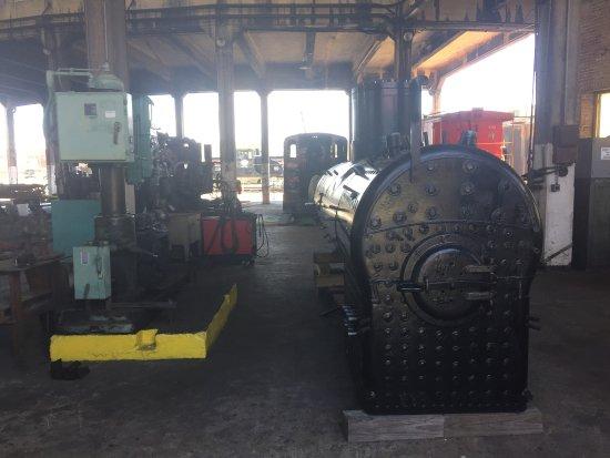 New Steam Boiler - Picture of Georgia State Railroad Museum ...