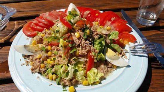 Bar à  huîtres billeau : La salades des iles