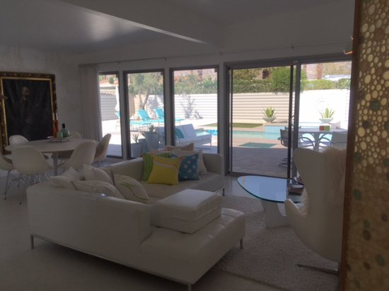 Palm Springs Mod Squad: Desert Modernism Living Room And Dining Area  Interior