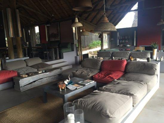 Timbavati Private Nature Reserve, Sør-Afrika: Lounge area