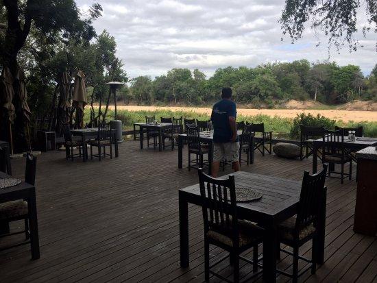 Timbavati Private Nature Reserve, Sør-Afrika: Dining area