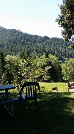 Dunsmuir Lodge: This is the picnic area where I began every morning and ended every evening.