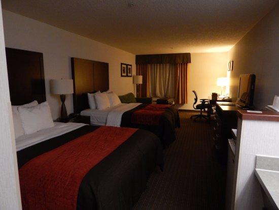 Comfort Inn & Suites Portland International Airport: Spacious rooms