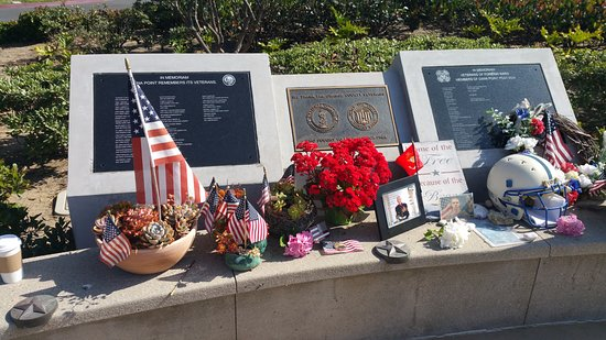 Dana Point, CA: Military Memorial