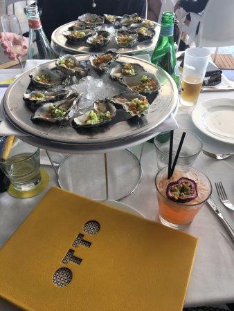 Otto Ristorante: The Oysters.