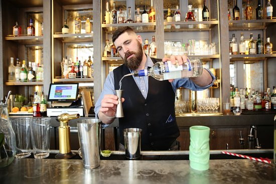 The Summit House bar
