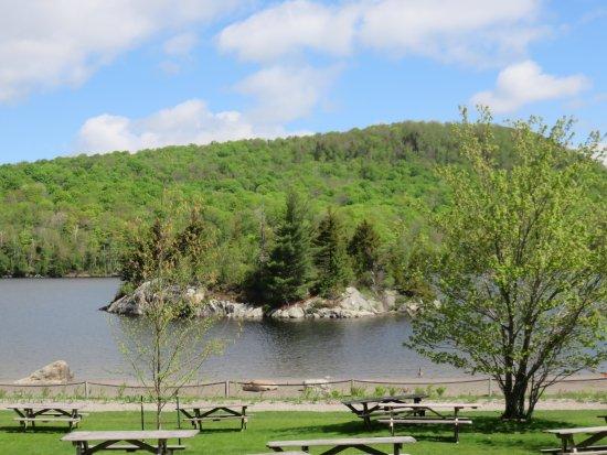 lac magog camping