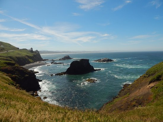 Yaquina Bay Lighthouse: Views around the lighthouse