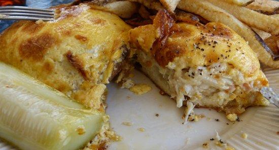 Crisfield, MD: yummy big chunky crab meat